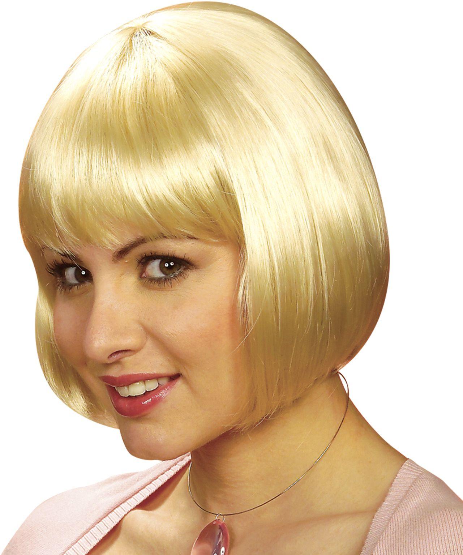 Michelle pruik blond