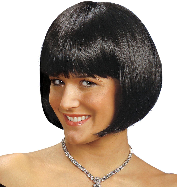 Michelle pruik zwart