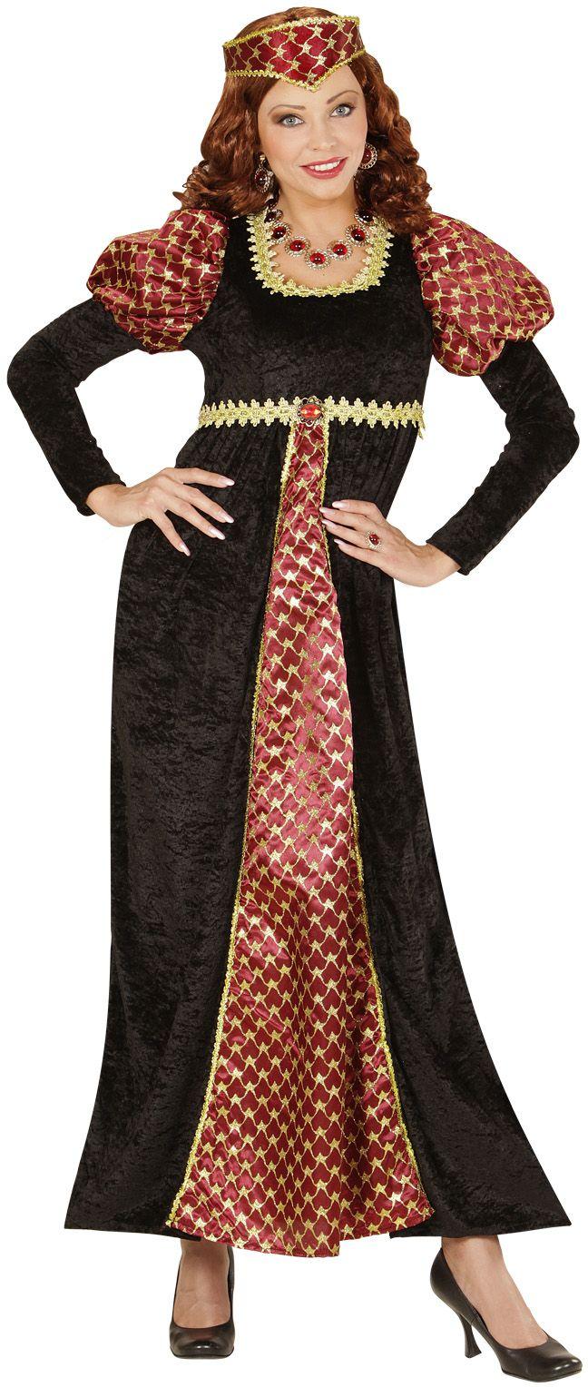 Middeleeuws feest jurk
