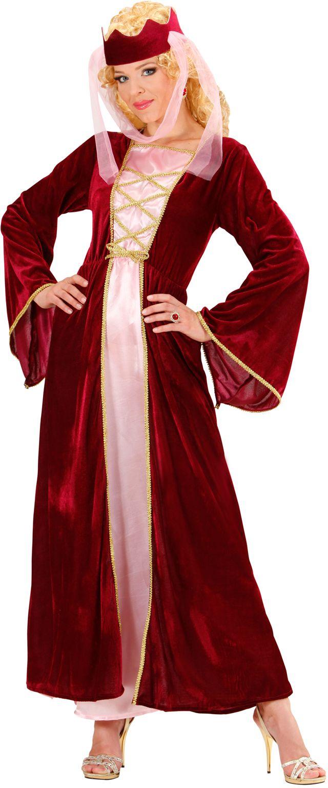 Middeleeuws koningin kostuum