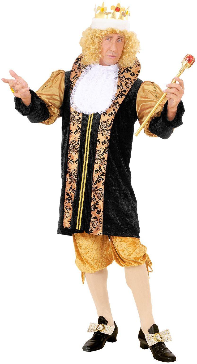 Middeleeuws kostuum koning
