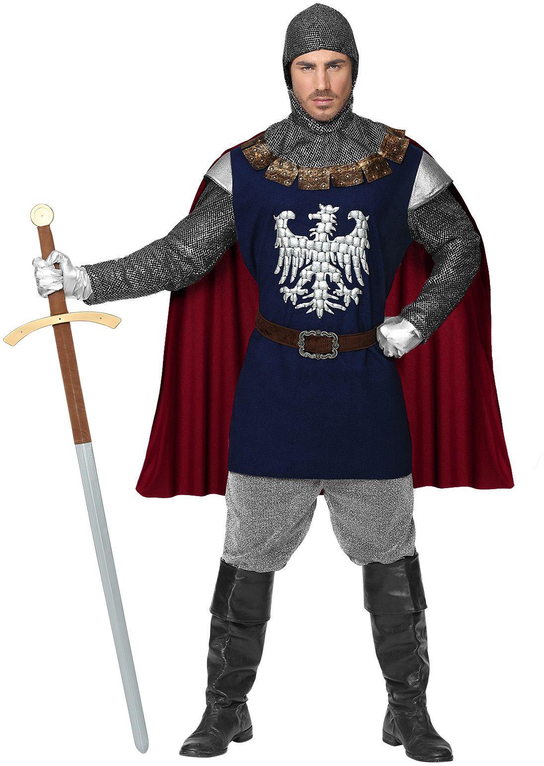Middeleeuws ridder outfit mannen