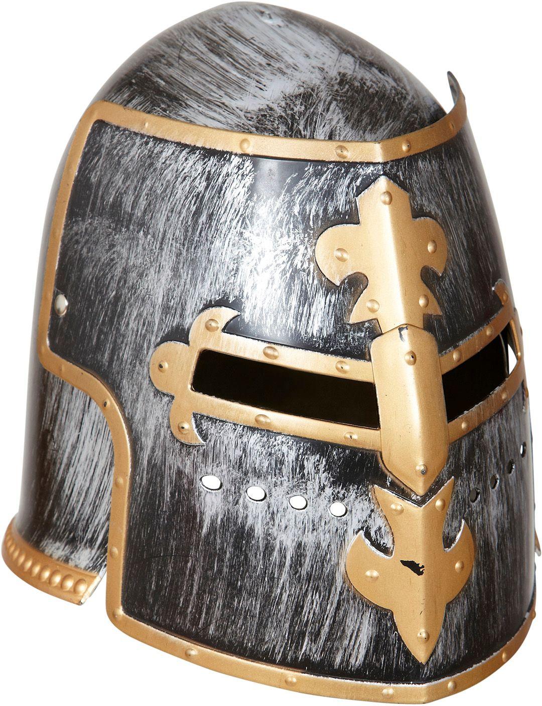 Middeleeuwse gevechtshelm met vizier