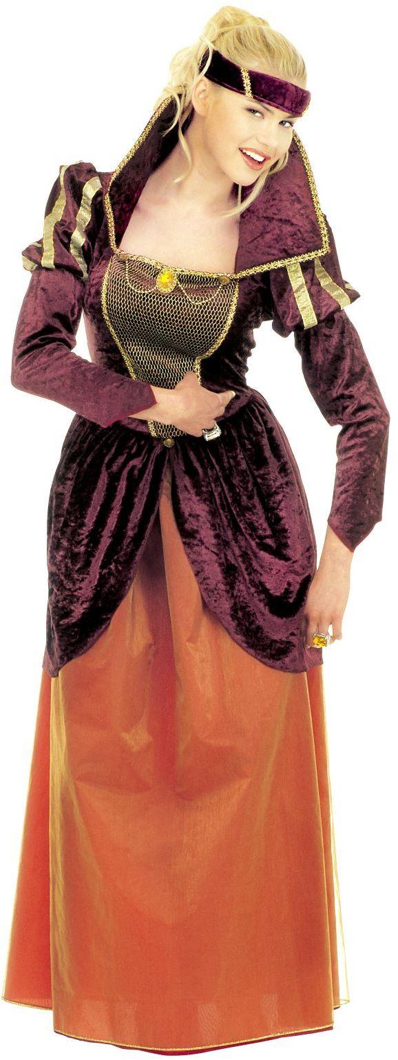 Middeleeuwse koningin carnaval