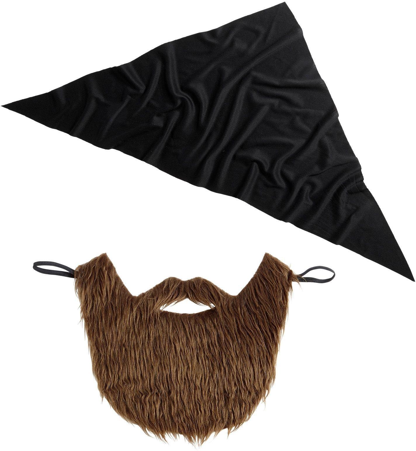Militairen bandana met baard