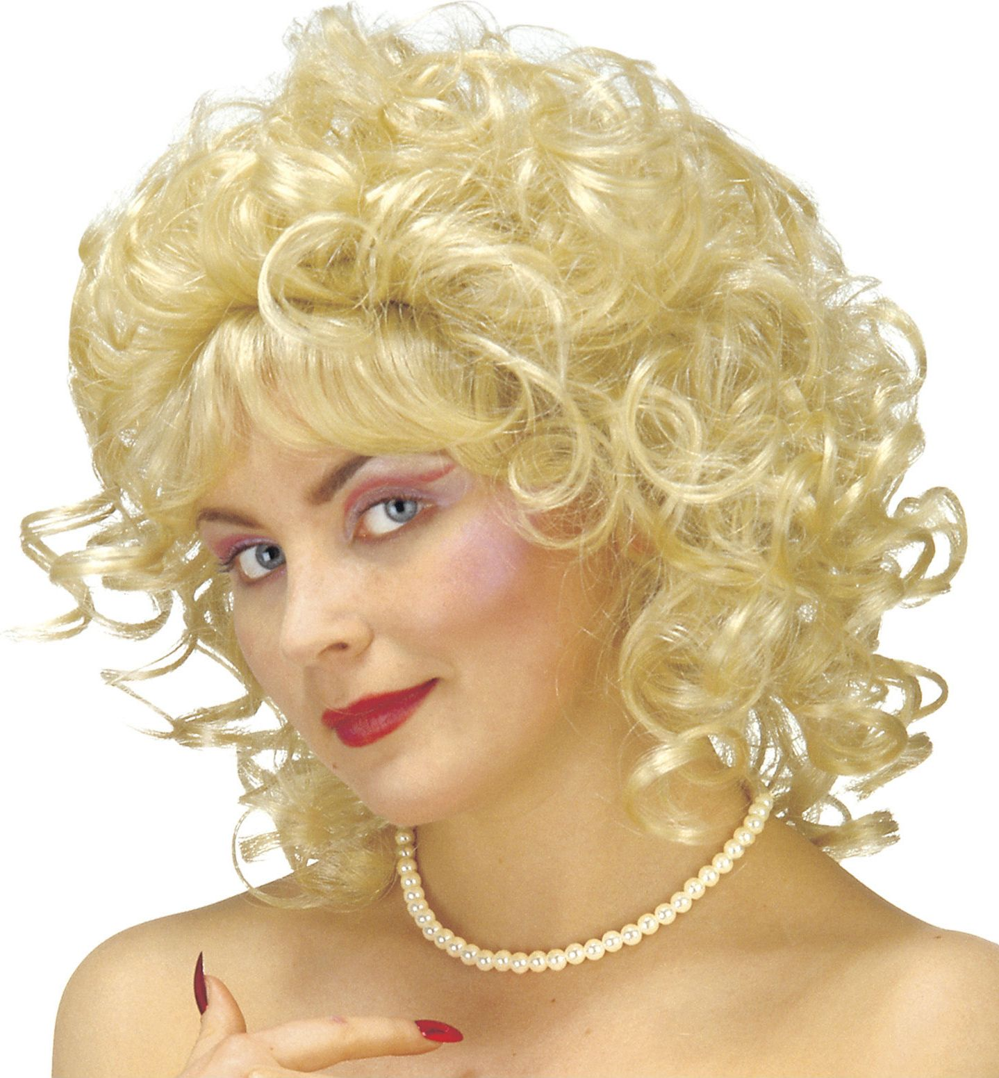 Milly pruik blond