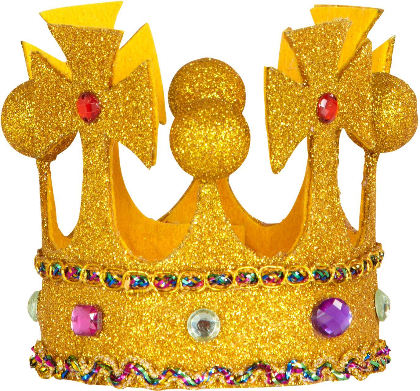 Mini koninklijke kroon met juwelen