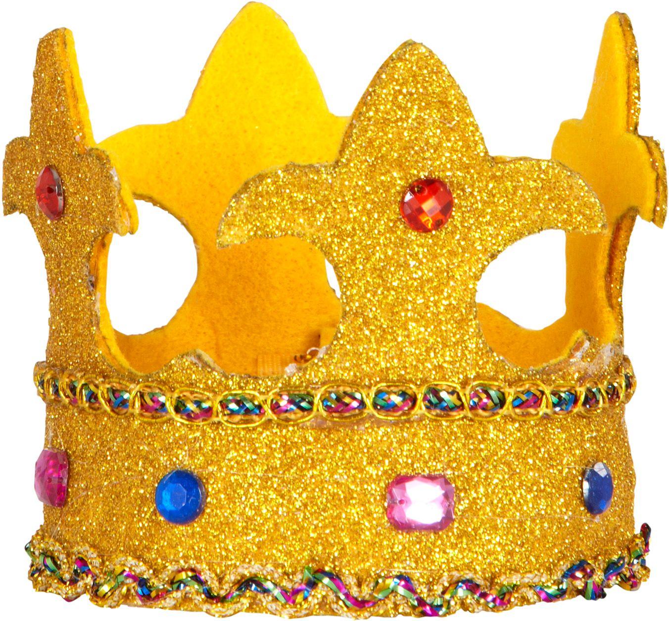 Mini kroon met juwelen