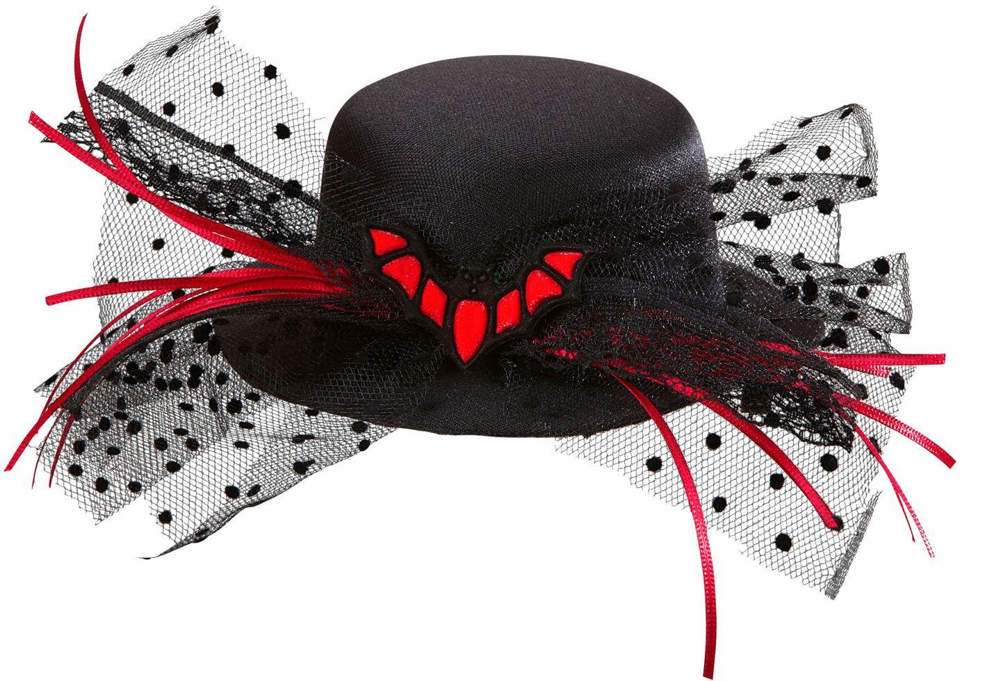Mini vleermuis hoge hoed