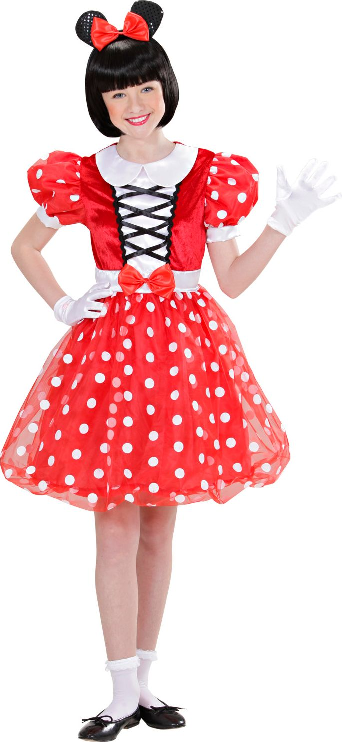 Minnie mouse kostuum kind