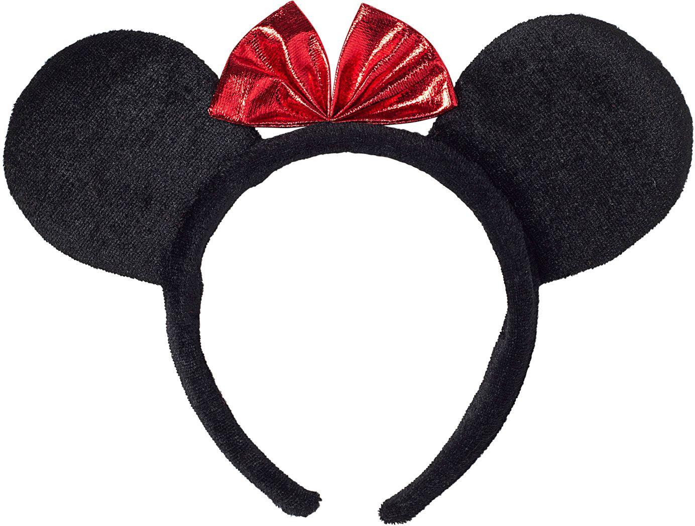 Minnie Mouse oortjes met strik