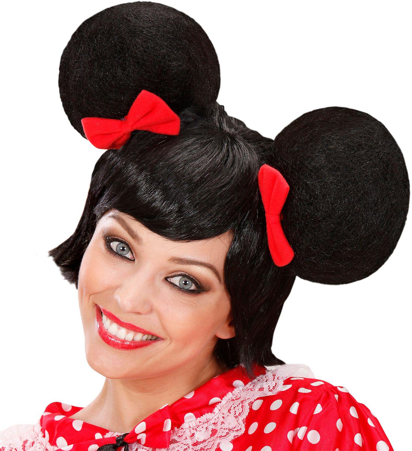 Minnie Mouse pruik