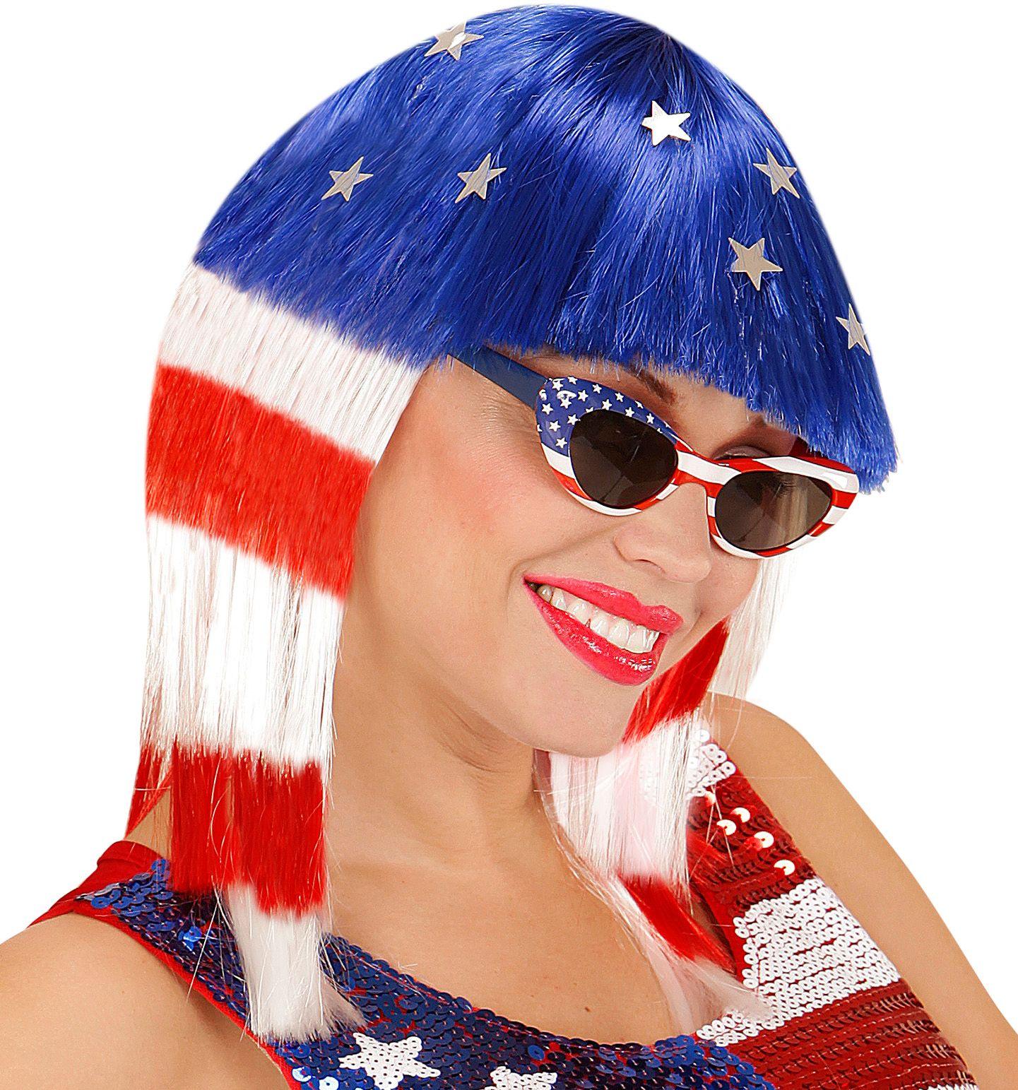 Miss Amerika pruik