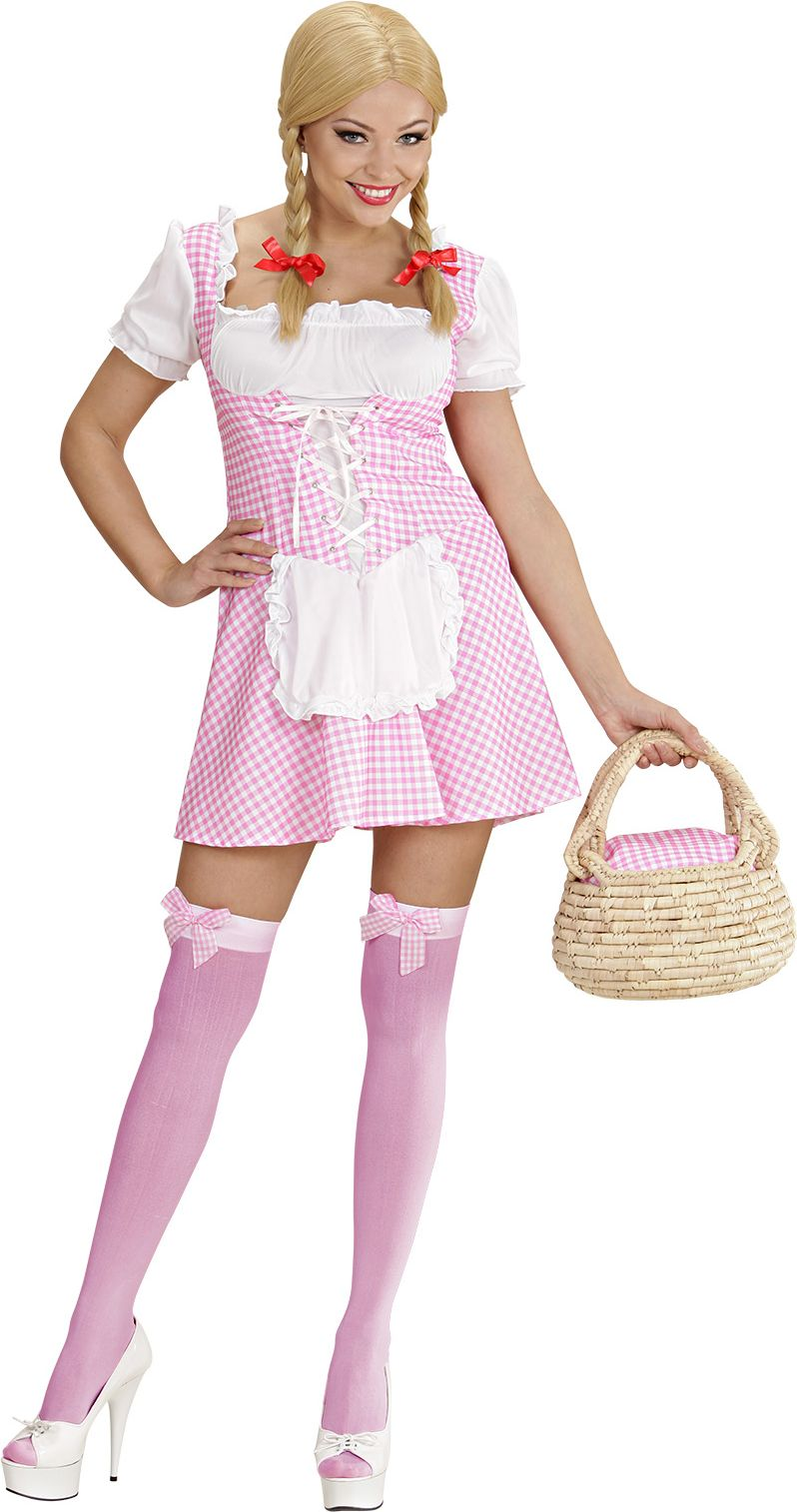 Miss Muffet outfit roze