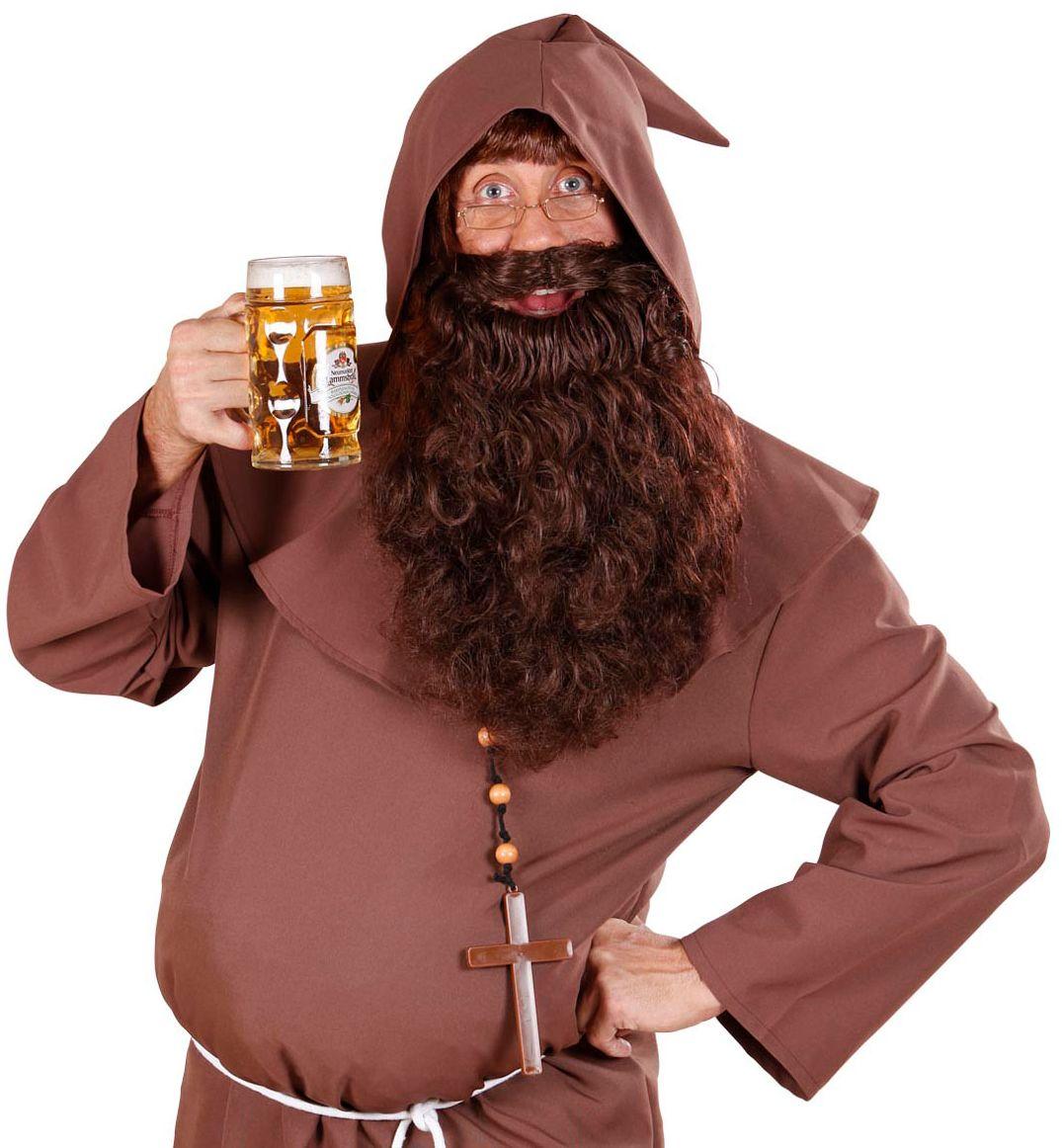 Monnik baard bruin
