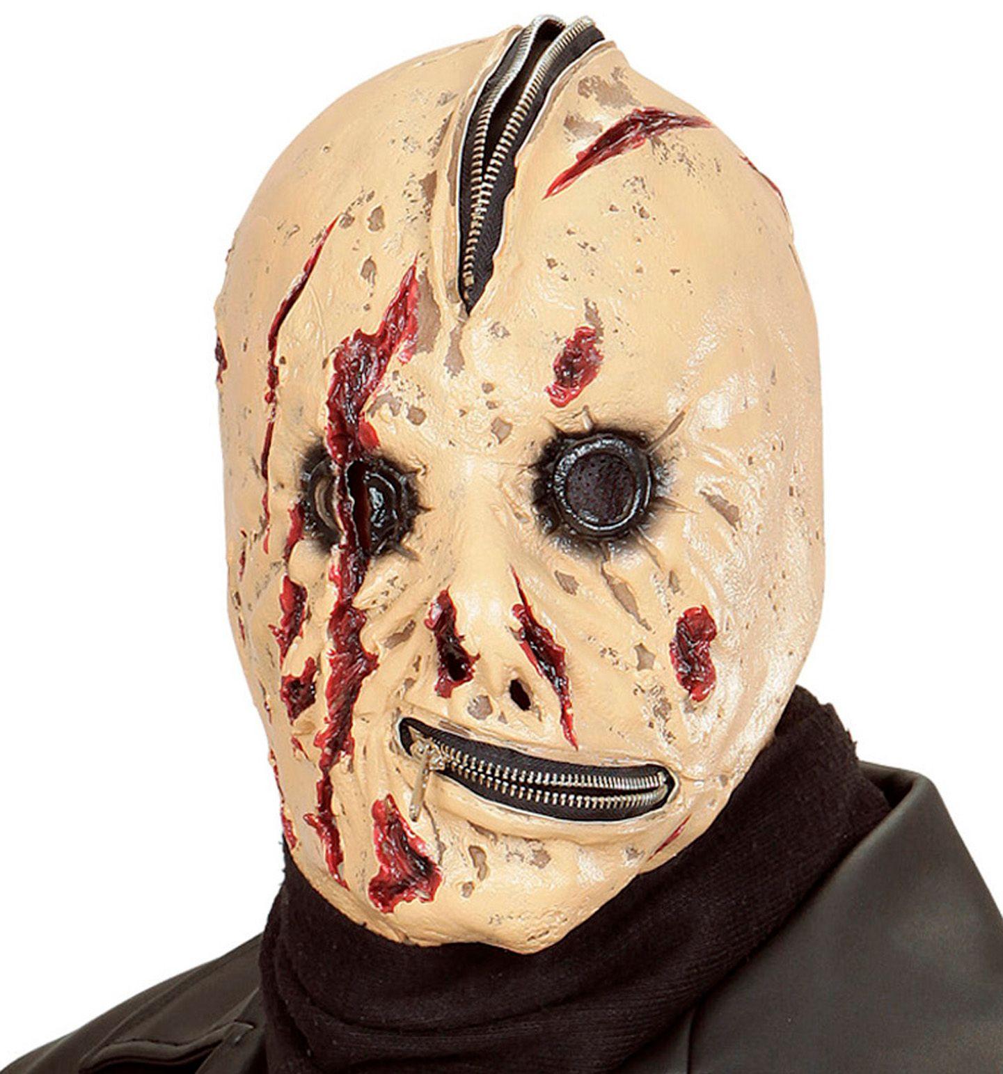 Monster masker met rits