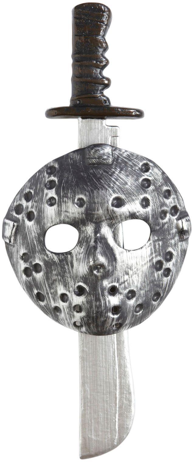Moordenaar masker met machete