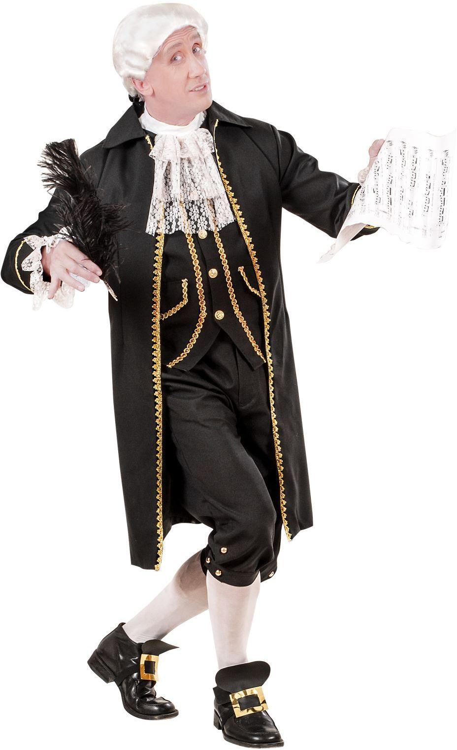 Mozart kostuum