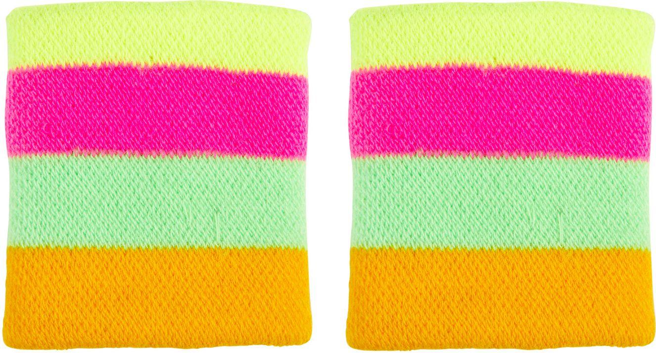 Multikleurige neon polsbanden