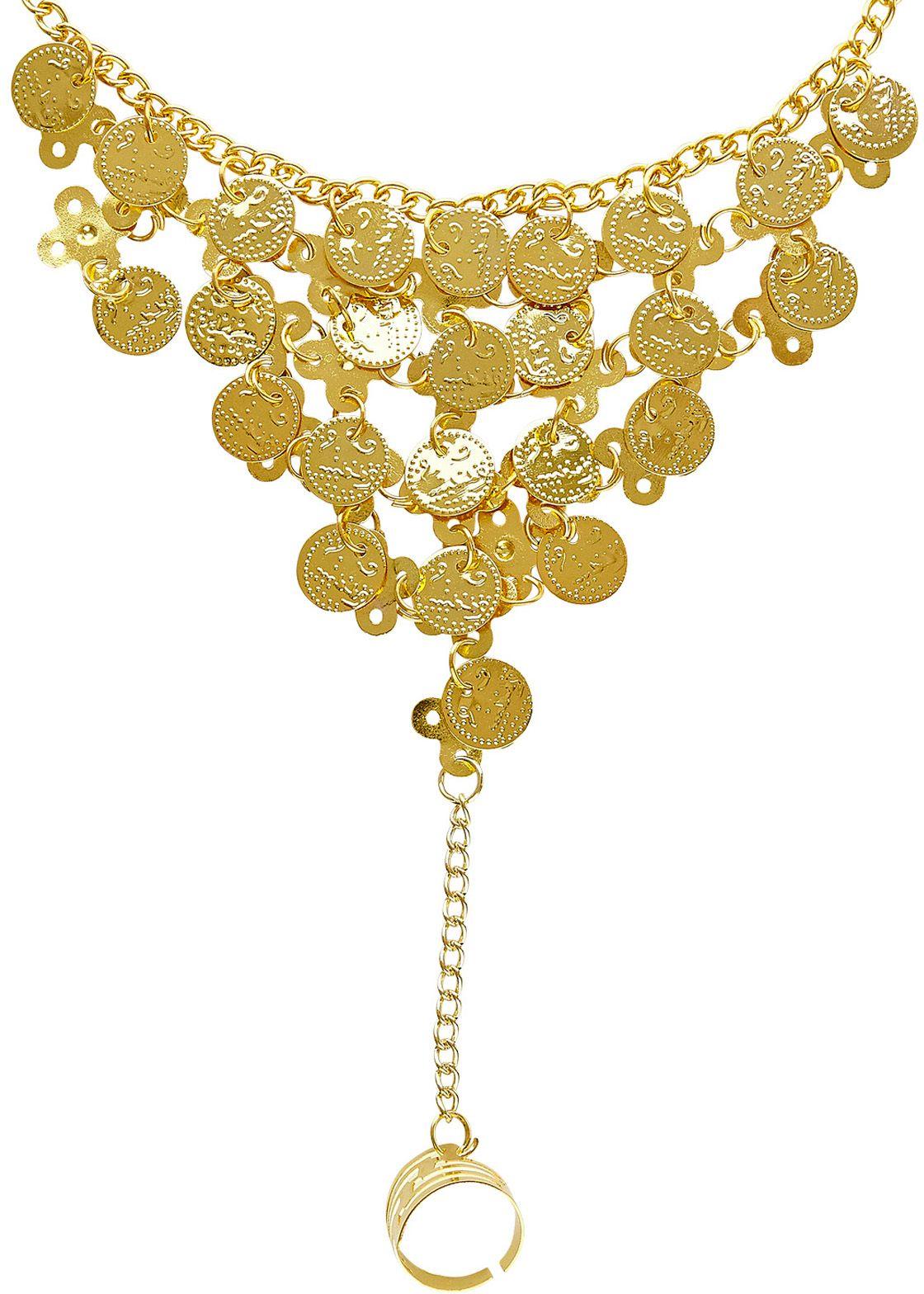 Muntjes vingerhandschoen goud