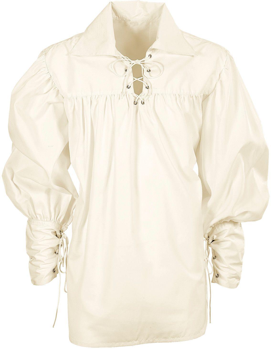 Musketier kostuum shirt