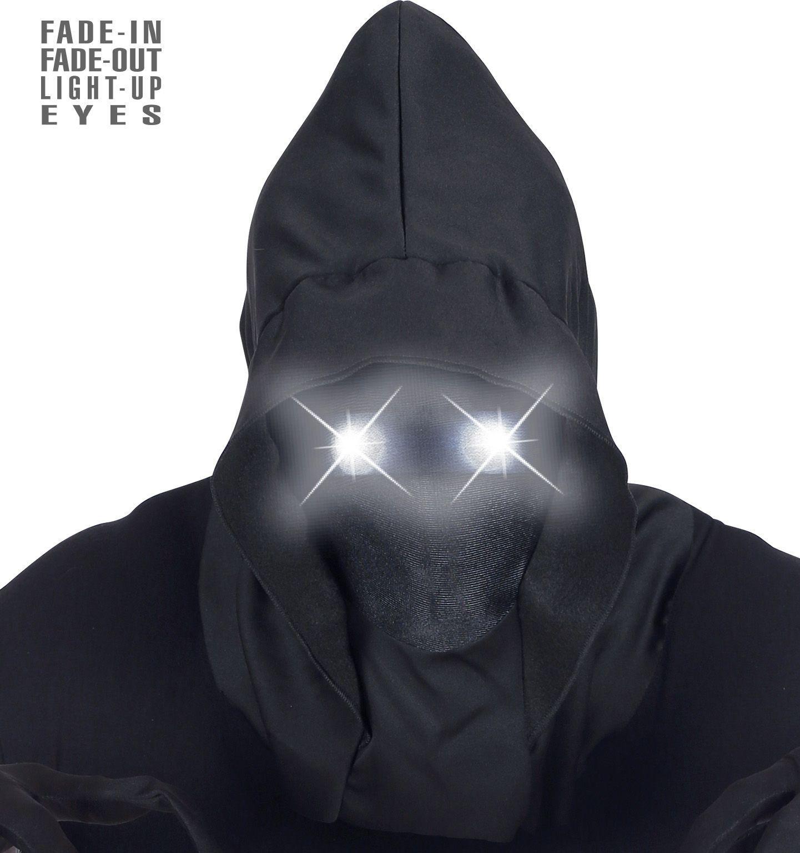 Mysterieus masker met witte ogen mannen