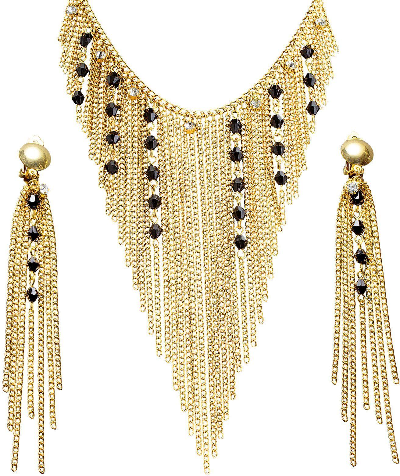 Nefertiti ketting en oorbellen