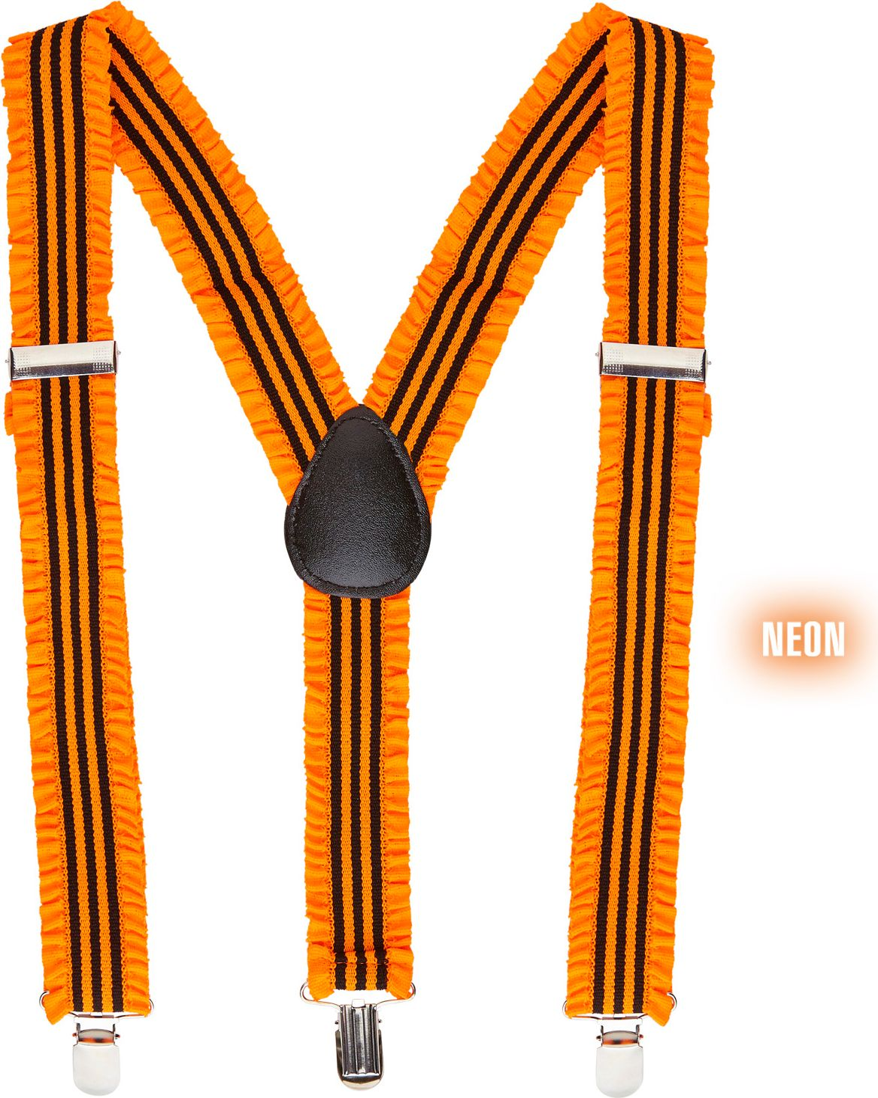 Neon bretels oranje