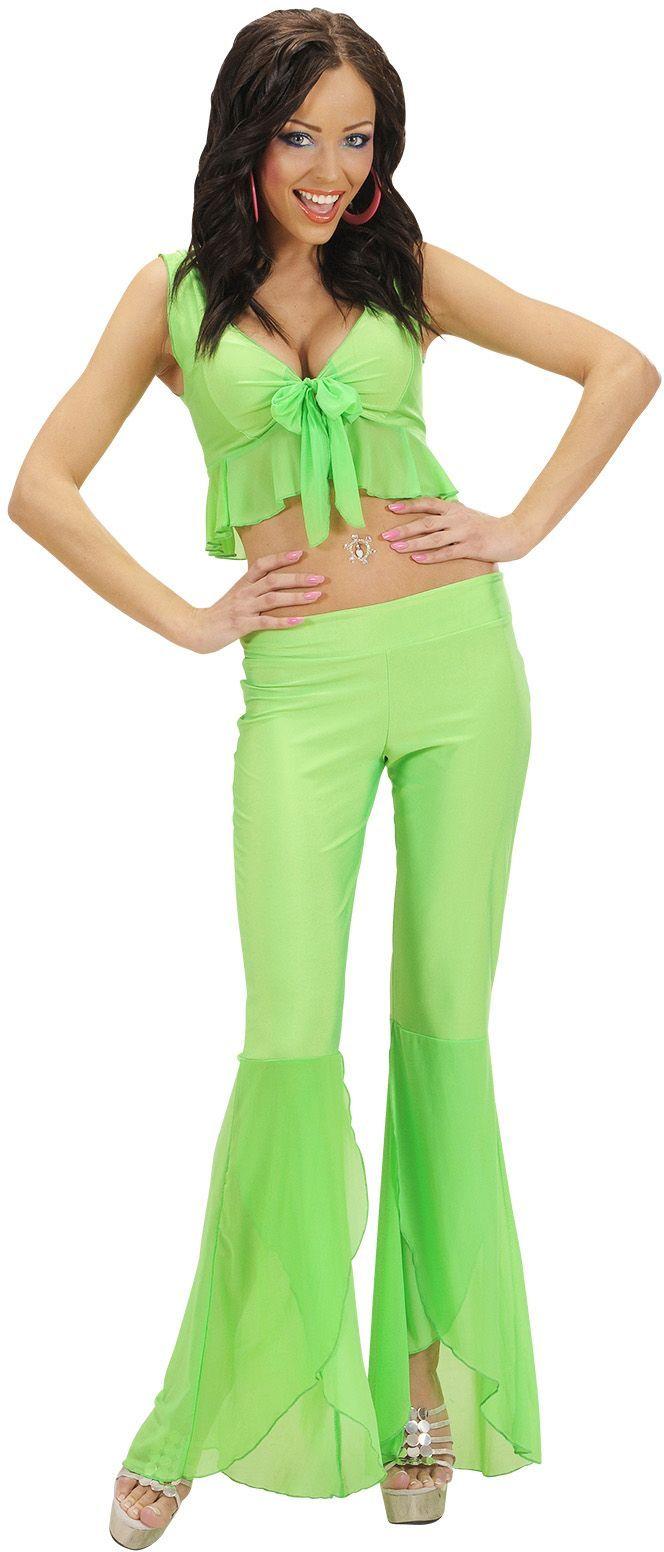 Neon groene Samba de Janeiro top en broek