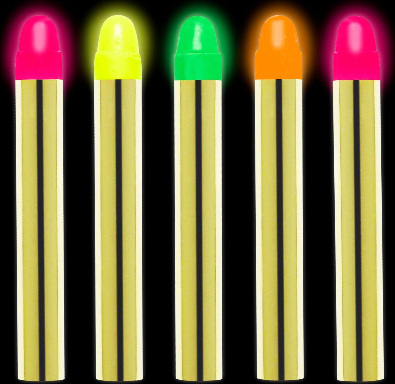 Neon schminkstiften