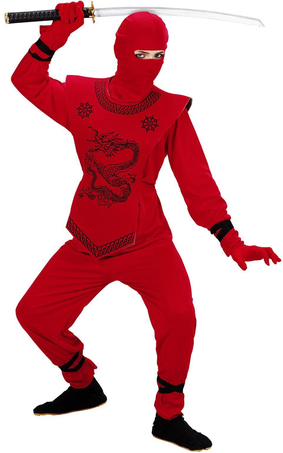 Ninja pak kind rood