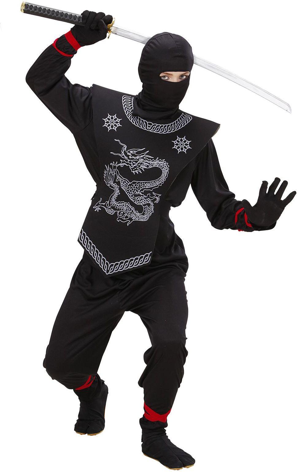 Ninja pak kind zwart