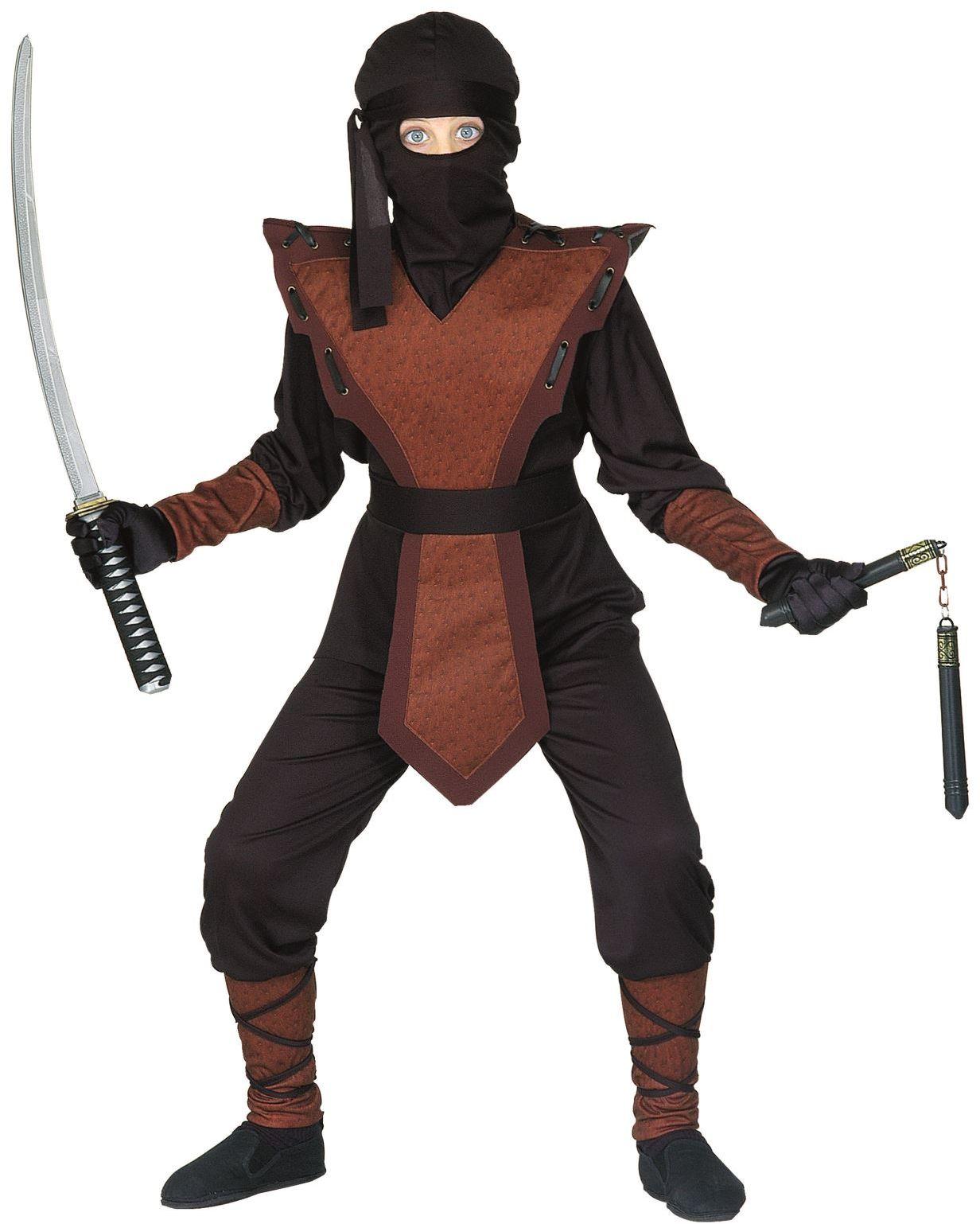 Ninja verkleedpak kind