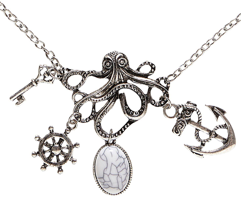 Octopus piraten ketting