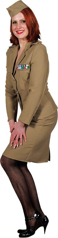 Officier outfit vrouwen