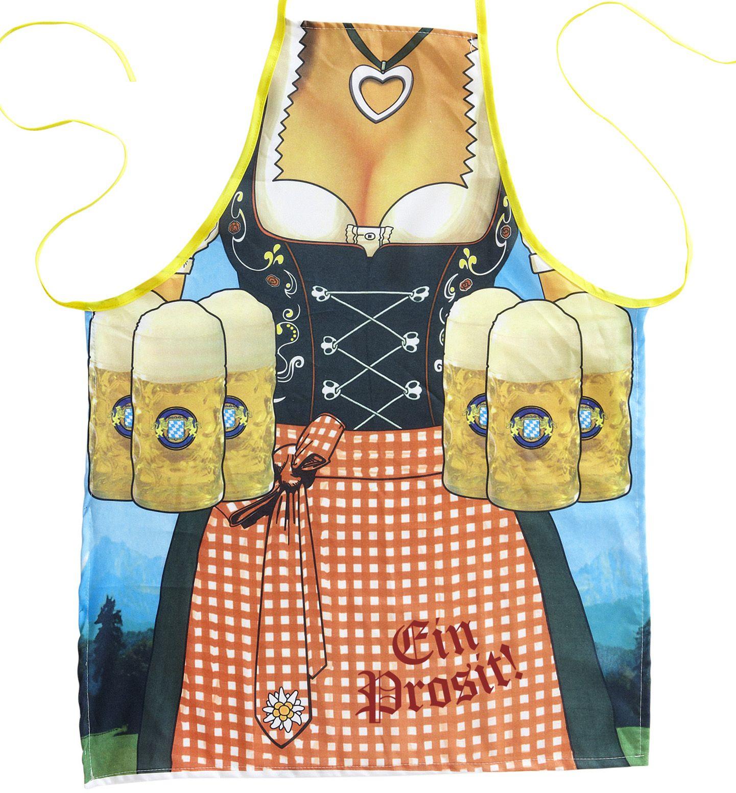 Oktoberfest schort dames