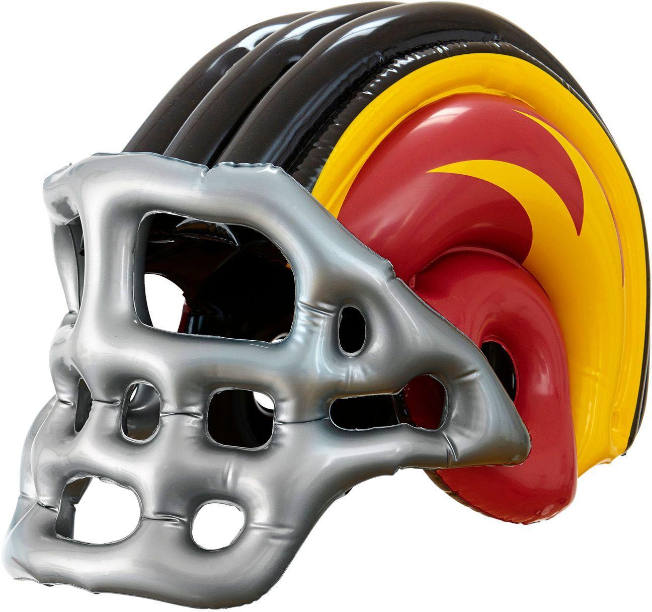 Opblaasbare american football helm