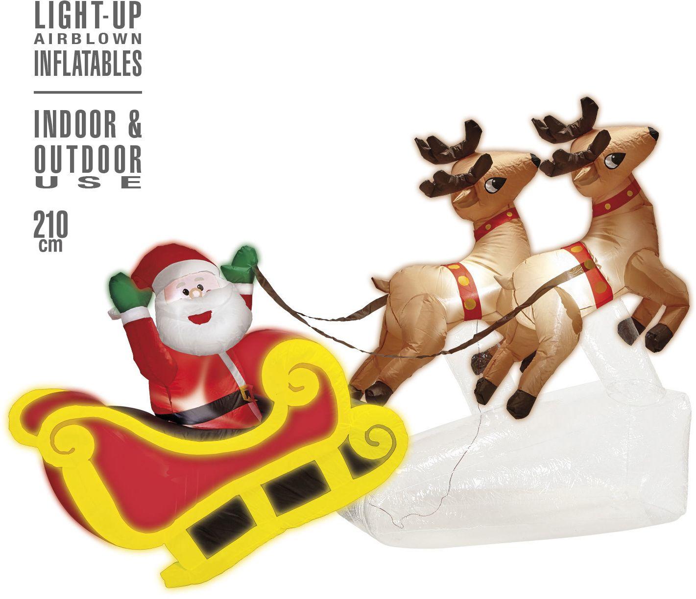 Opblaasbare kerst decoratie