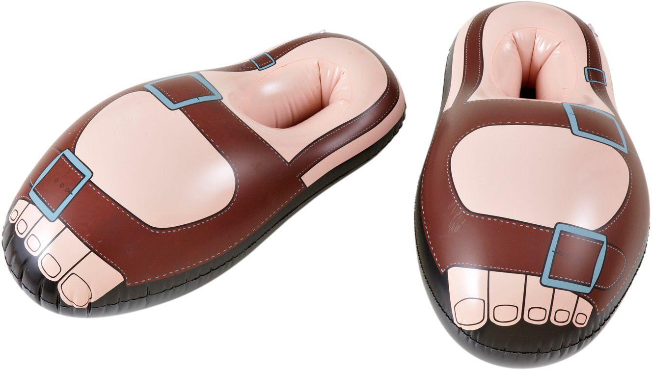 Opblaasbare monnik sandalen