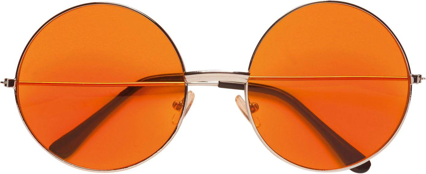 Oranje 70s bril