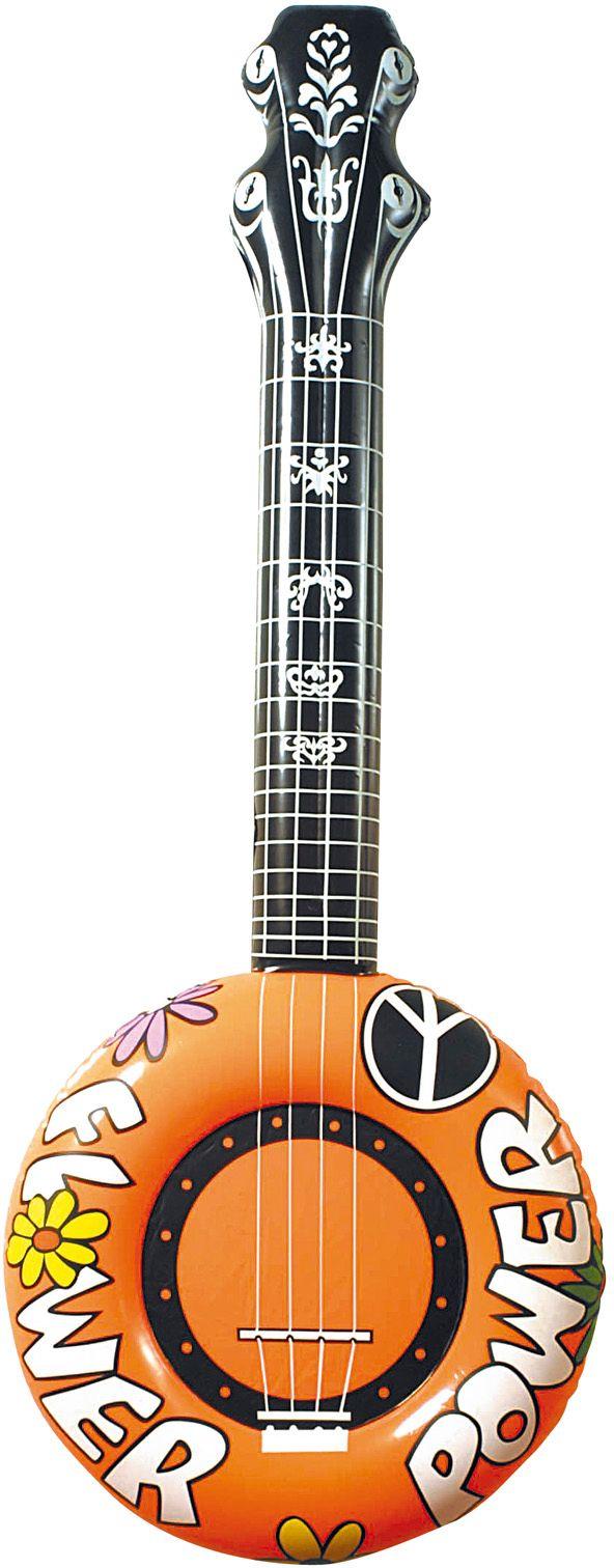 Oranje banjo opblaasbaar