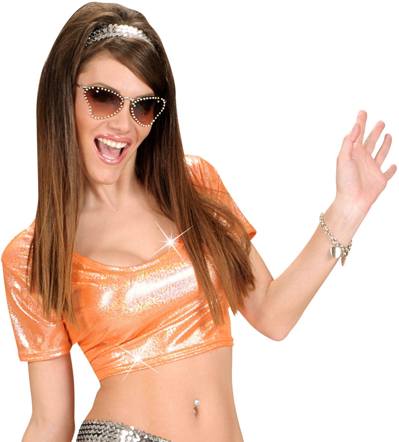 Oranje disco jaren 70 top