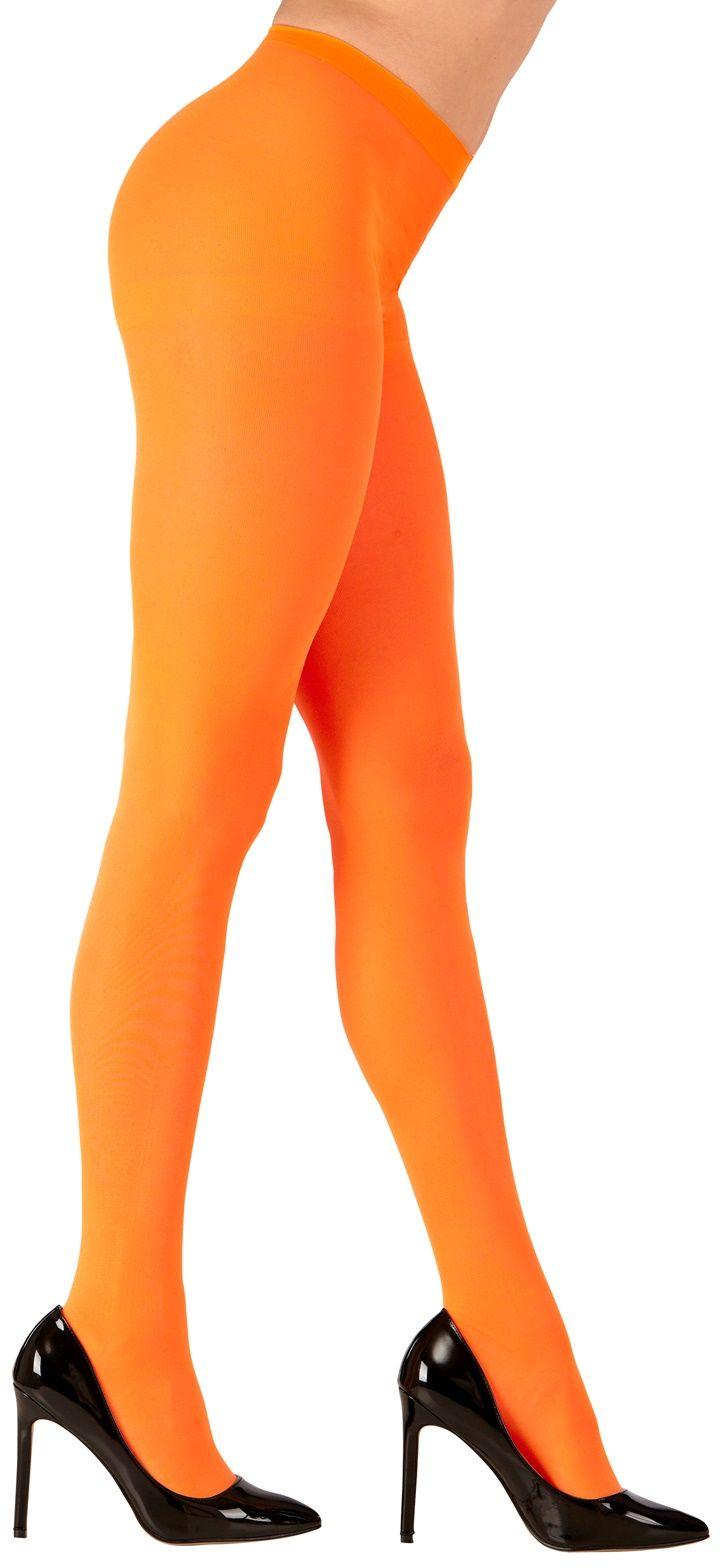 Oranje neon panty