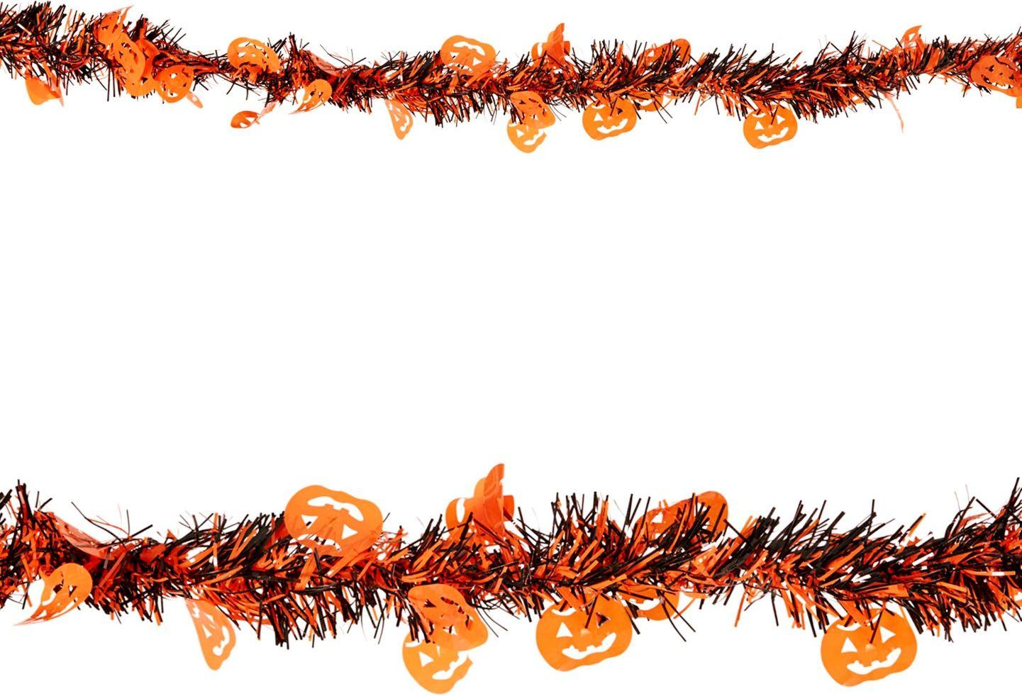 Oranje pompoen slinger