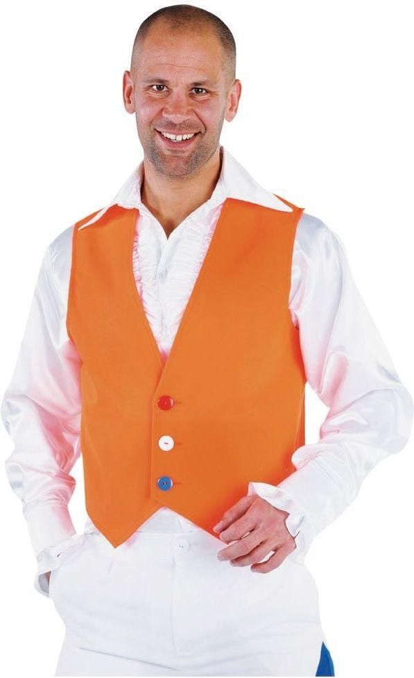 Oranje vest heren