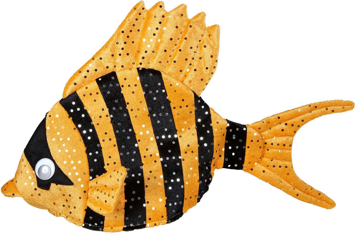 Oranje vis hoed