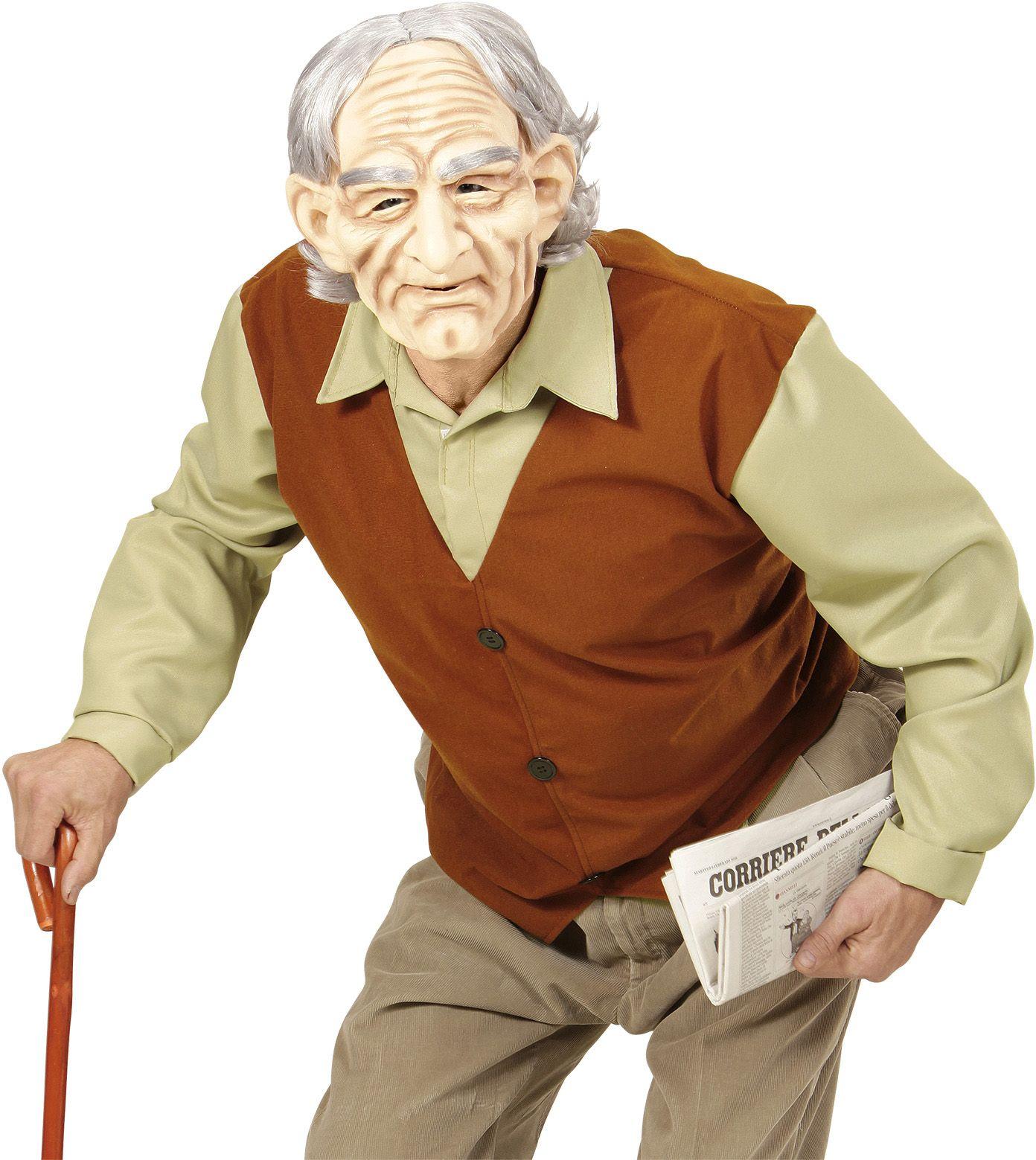 Oude man pak