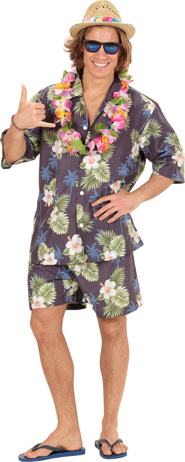 Outfit Hawaiiaans