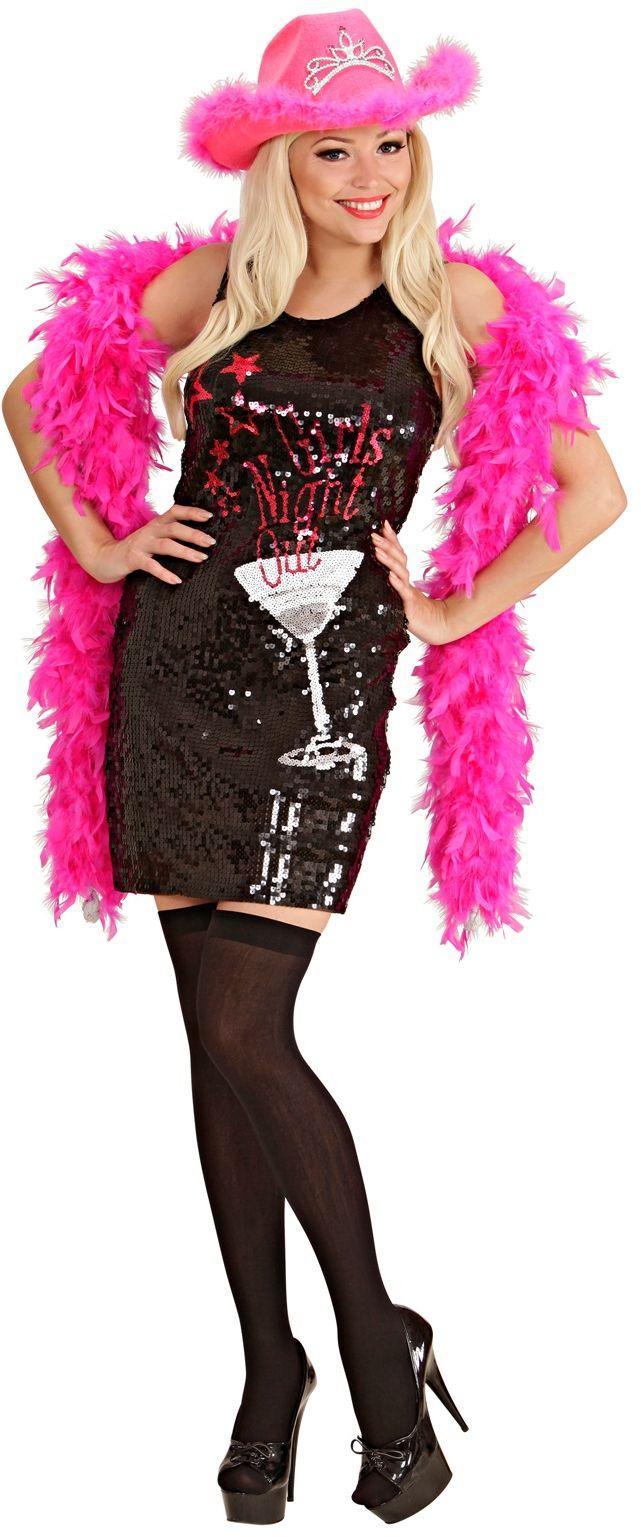 Pailletten 'Girls Night Out' jurk