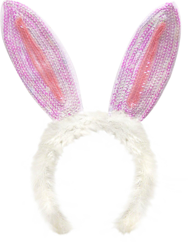 Pailletten konijn oren
